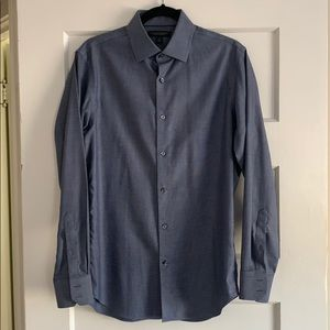 Banana Republic Men's Slim Non-Iron Shirt